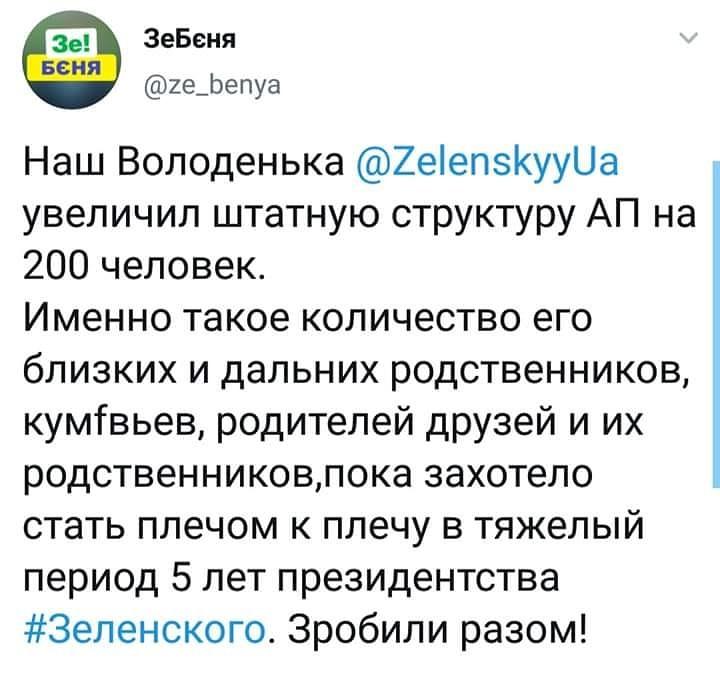 Зеленський розширив структуру АП, - указ - Цензор.НЕТ 31