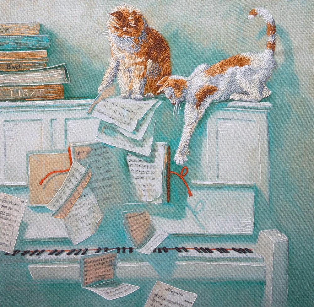 Коты марии павловой живопись