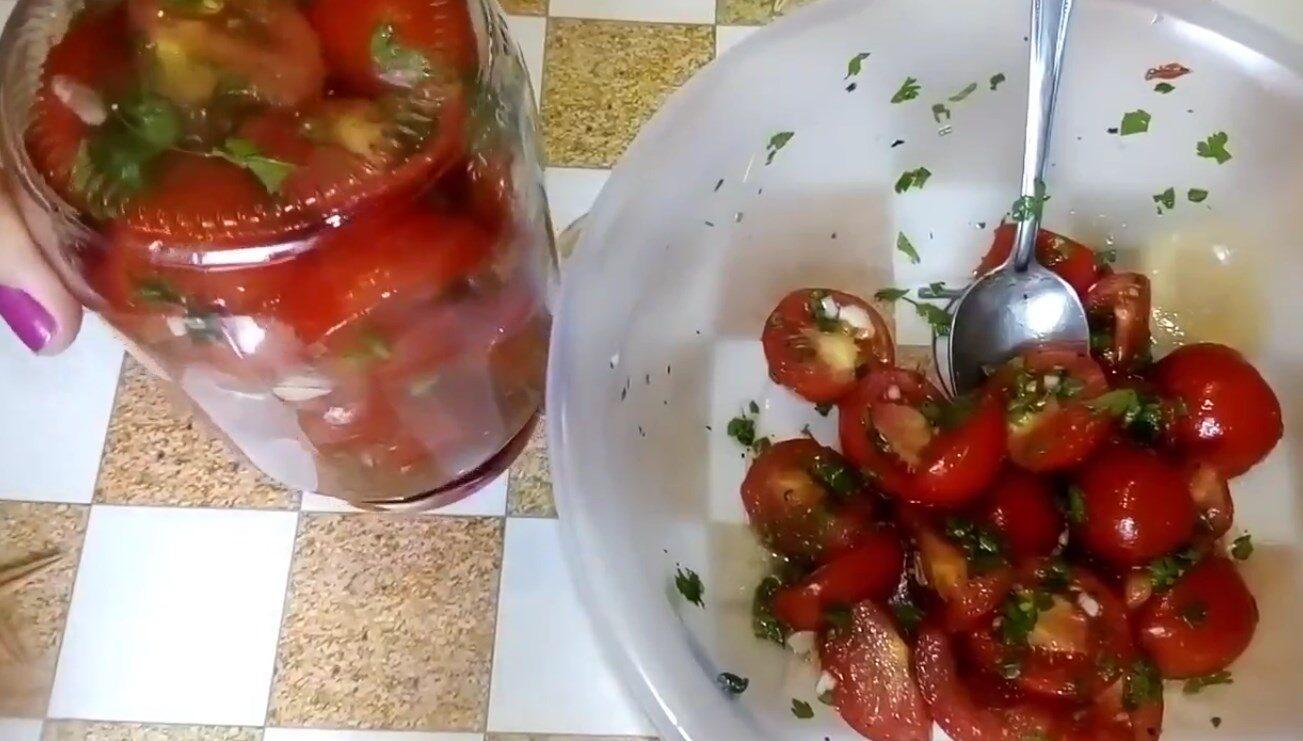 помидоры по-корейски ♨