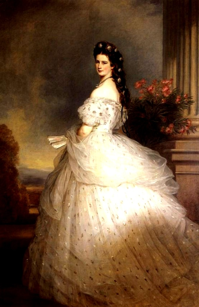 7f668723265 Белый шёлковый чехол и усыпанный сияющими звёздами тюль поверх него – если  это платье и вправду создал Ворт