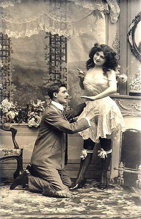 женское нижнее белье в начале 20 века