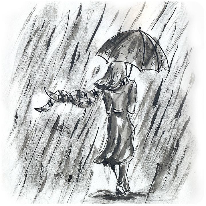 менее рисунок осень дождь карандашом рекомендуется изучить