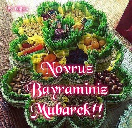 Novruz Bayraminiz Mubarek Olsun Sozleri