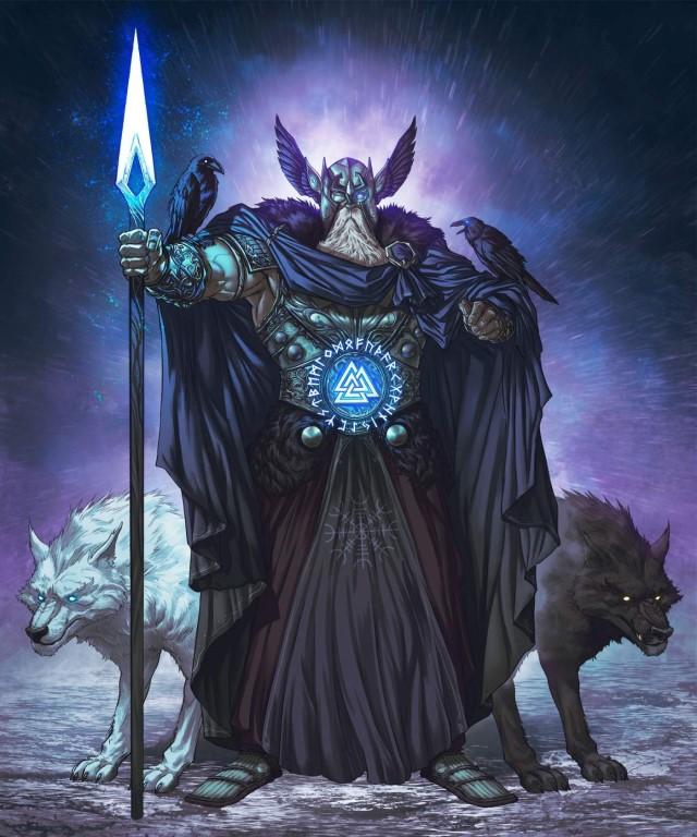 Фото анимация боги северного пантеона курс