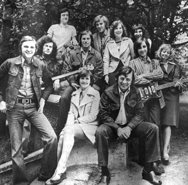"""ВИА """"Модо"""", год создания - 1973, руководители - Раймонд Паулс,Зигмар Лиепиньш. Рига."""