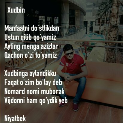 Niyatbek Norov | OK RU