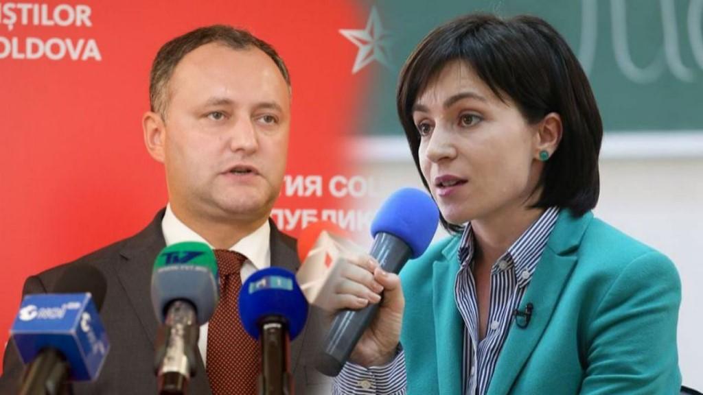 Молдавию ждёт второй тур