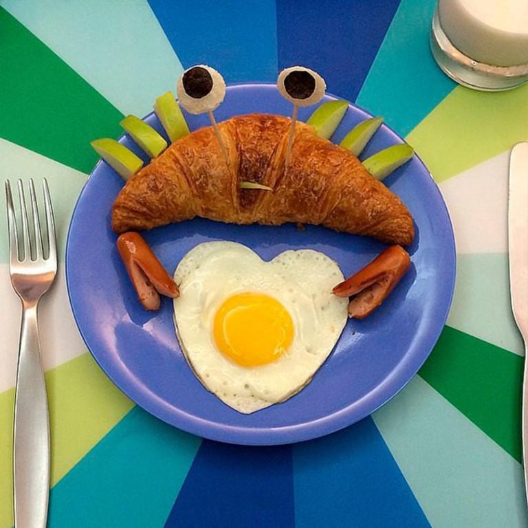 Нарисовать открытку, картинка с завтраком прикольная