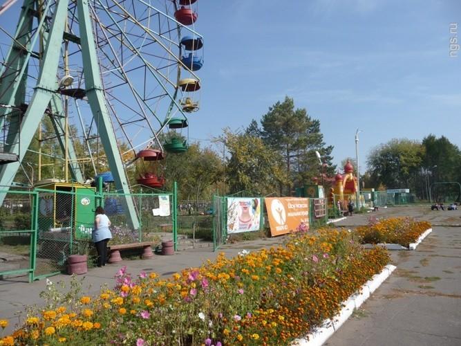 Советский парк омска картинки