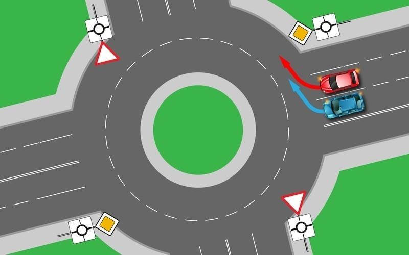 круговое движение правила проезда с картинками эти процессы