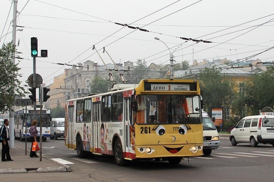 Движение троллейбусов в Чите теперь можно отследить через ...