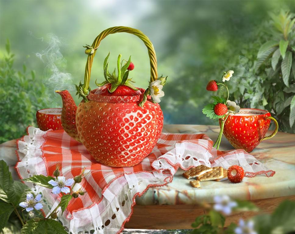 Открытки прекрасного летнего настроения