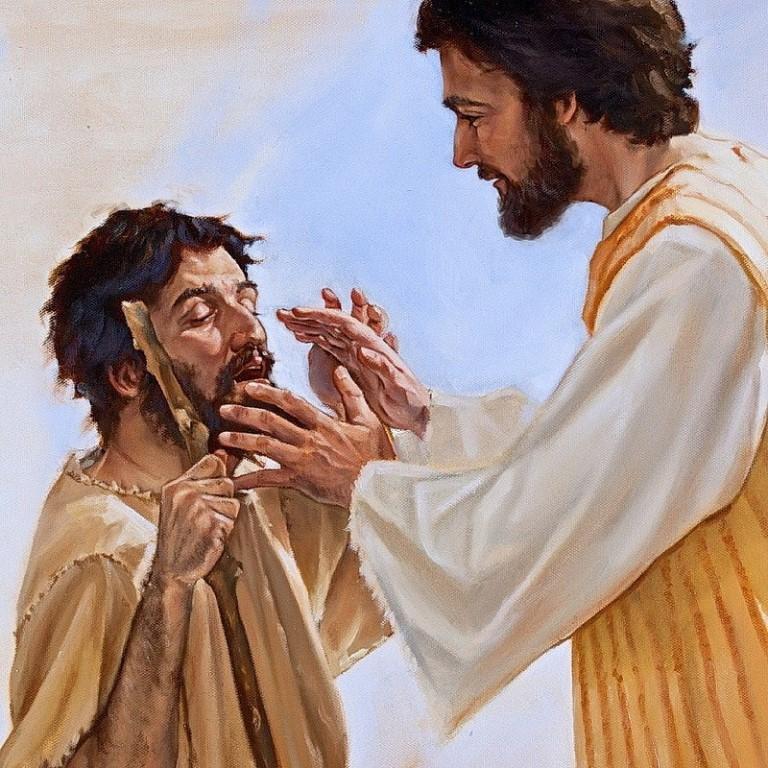 Картинка с иисусом и логином