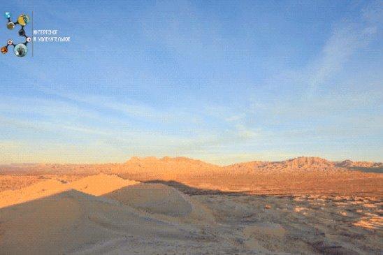 пустыня картинка гиф этом сама