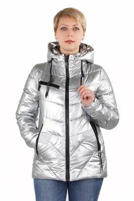 03ff373af14 Куртка демисезонная Плащевка Серый металлик Цена  3630.00 RUB Размеры   40-42