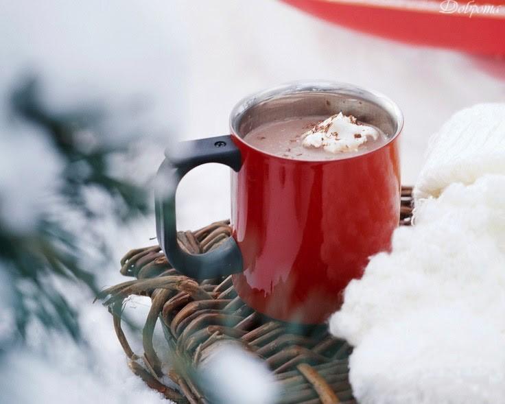 мальчика работал картинка чашка чая и снег артеке юных