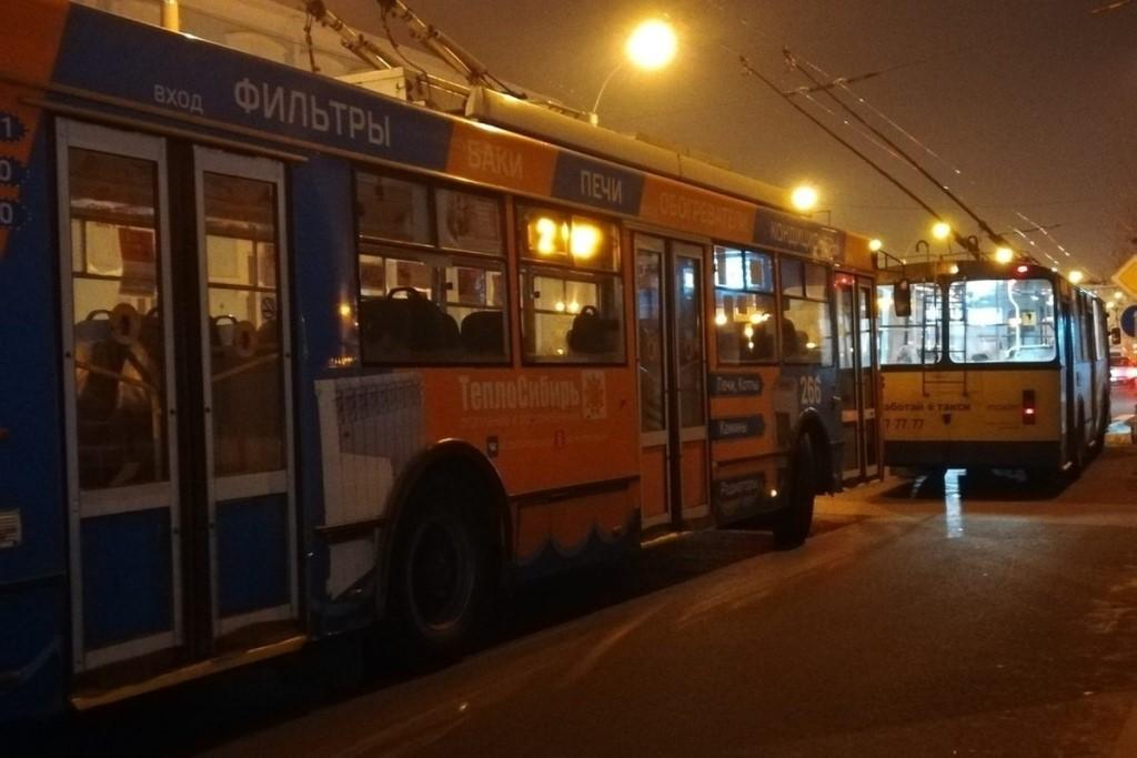 Троллейбусы Читы пройдут по маршрутам в Рождественскую ночь