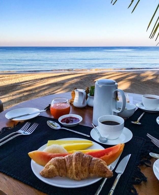 Доброе утро на берегу моря картинки