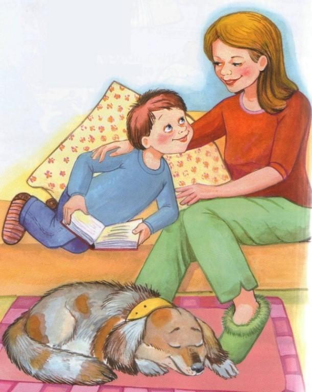 Картинки мама и ребенок для детей, открытки