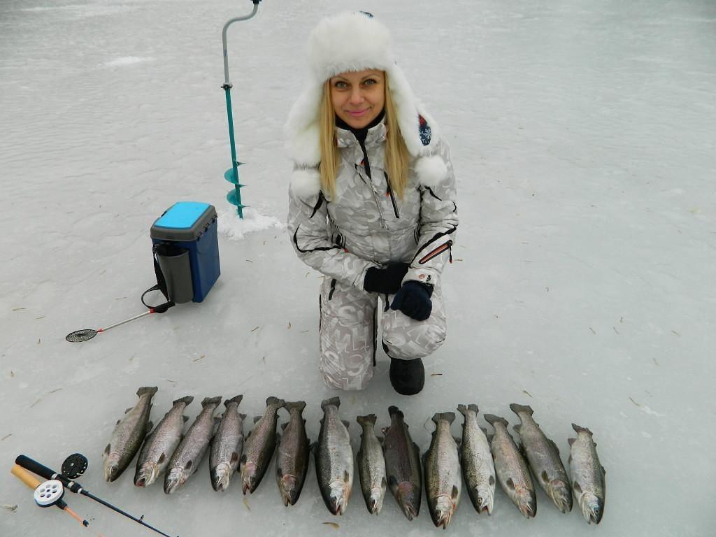 Кто обожает зимнюю рыбалку 100 к 1