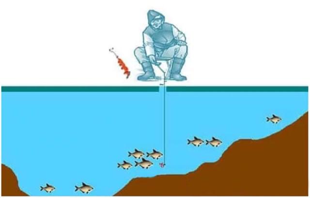 Как выбирать место для зимней рыбалки