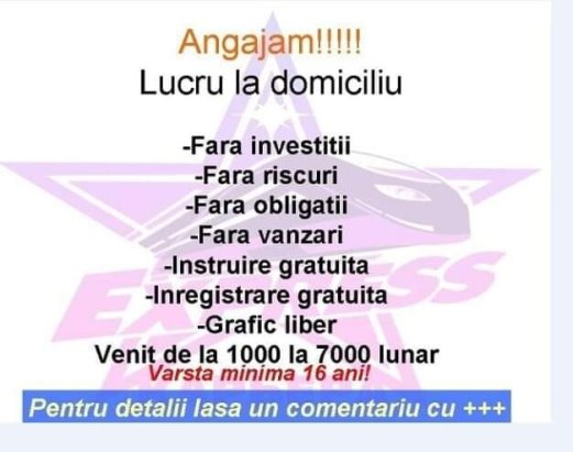 agenții care oferă lucrări la domiciliu)