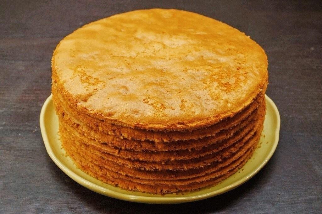 ночной коржи для торта рецепт с фото пошагово полотне