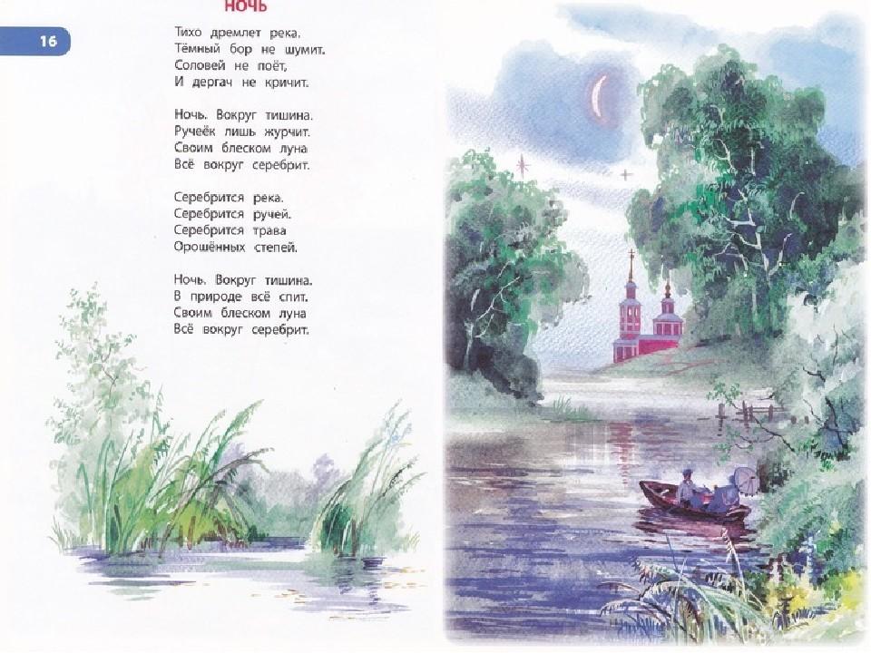 Стихи есенина в картинках о природе