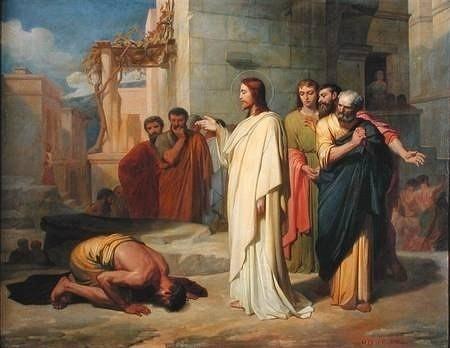 Сегодня евангелист Марк повествует нам об исцелении слепого, которого звали  Вартимей.