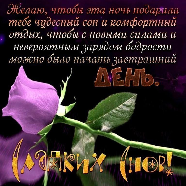 Красивые открытки пожеланием спокойной ночи с цветами, бабочки андроид