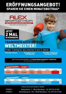 alex sportcentrum nürnberg