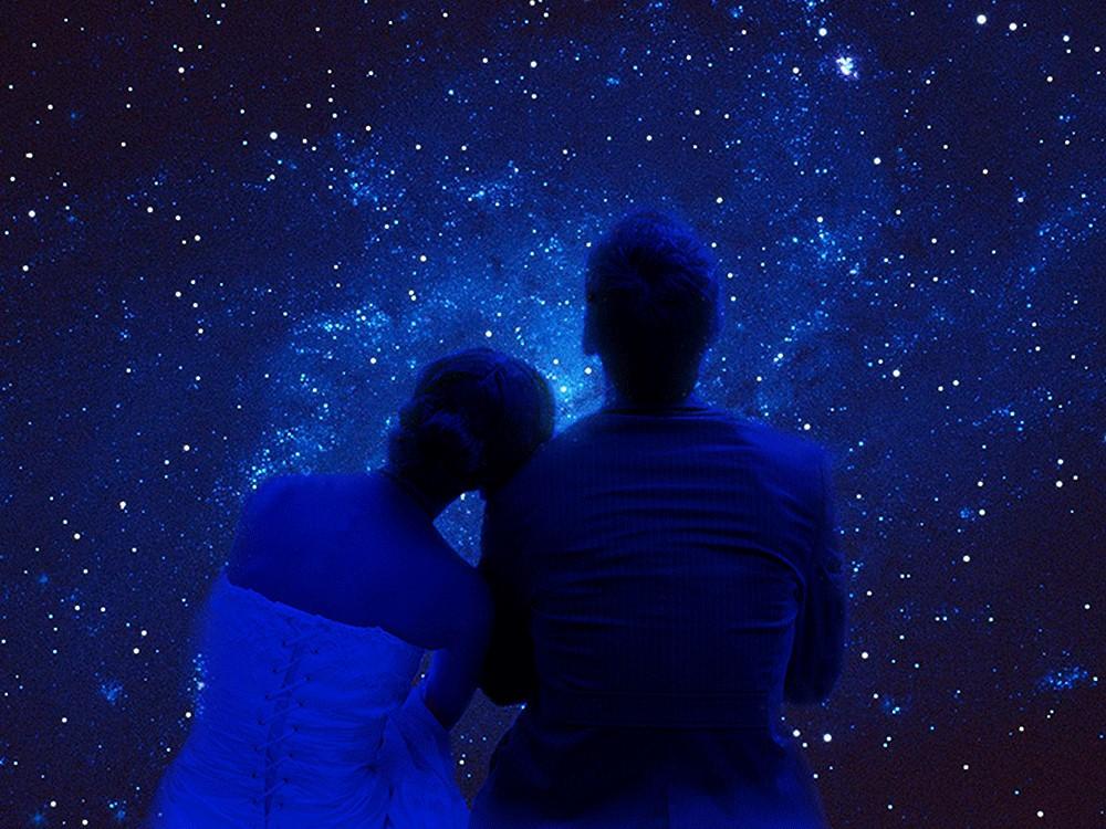 Жене, картинки любви и страсти под звездным небом