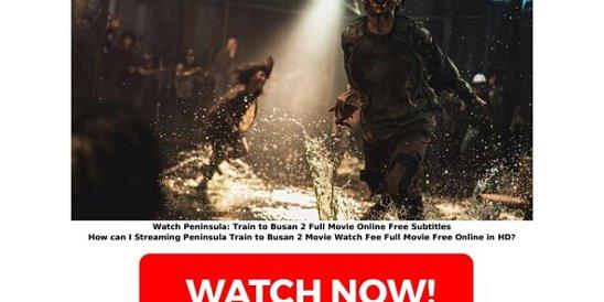 Free Watch Peninsula Full Movie