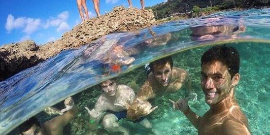 парень знает толк в подводных фотографиях будете