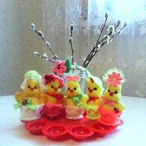 игрушки вязаные крючком Okru