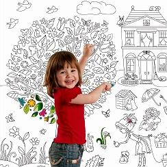 ОБОИ и ПЛАКАТЫ РАСКРАСКИ для детей и взрослых — Фото | OK.RU