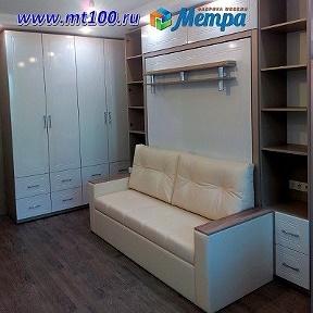 шкаф диван кровать трансформер комодметра москва Okru