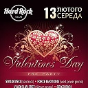 VALENTINES DAY pre party@HARD ROCK