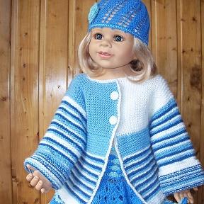детская вязаная одежда схемы и описания Okru