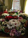 У Насти целая оранжерея после праздника :))