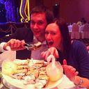 Съели с Катей всех лебедей с торта