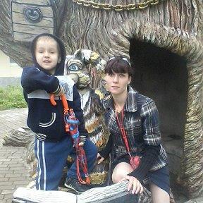 мамочка с сынулей