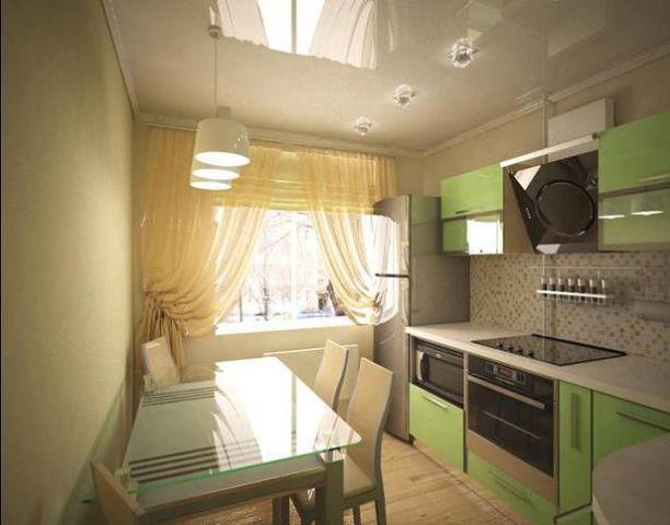 дизайн интерьера кухни 8 кв. м фото