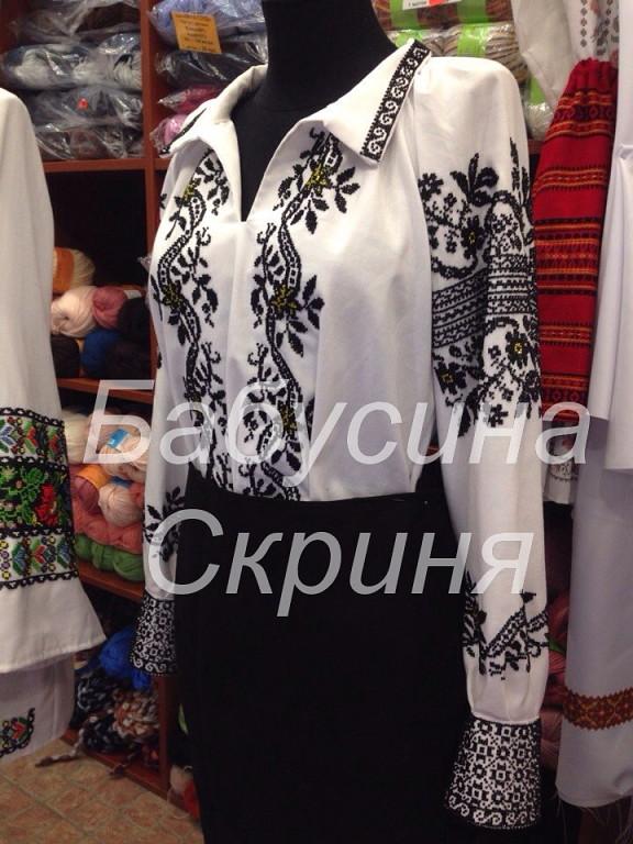 БС-62 СОКАЛЬСЬКА ВИШИВАНКА сорочка з нанесеним малюнком під вишивку  тканина-габардин 815d6f310cd4a