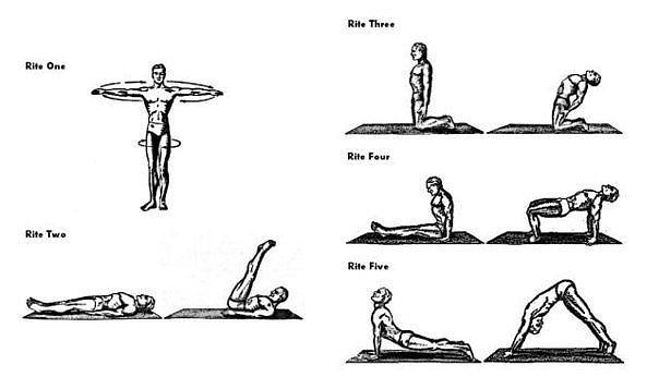 Напоили трахнули, пять тибетцев упражнения