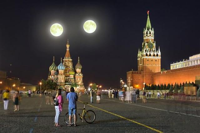 марс и луна 27 августа фото