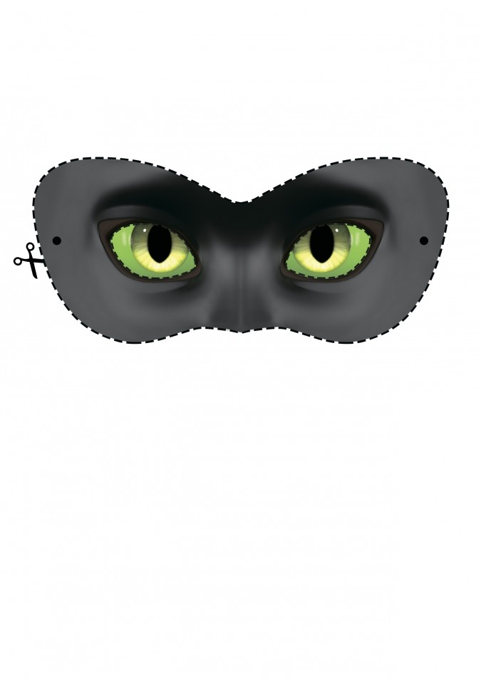 фото маски леди баг