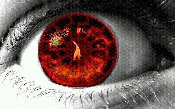 Картинки по запросу fire reflected in eyes