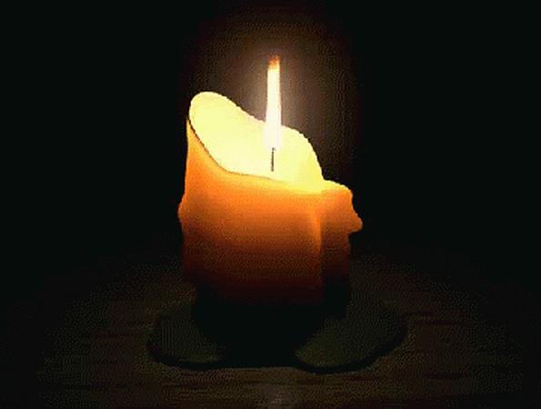 картинка поминальная свеча гифка голубой 'вдв', кокарда
