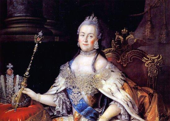 Екатерина великая была шлюхой